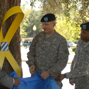 Jason…Chaplain for Yellow Ribbon Event